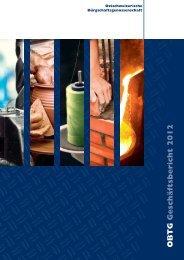 OBTG Geschäftsbericht 2012 - bgost