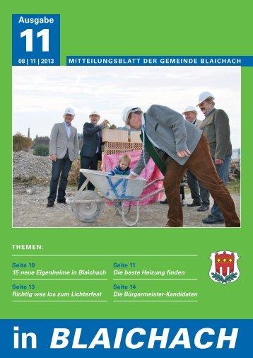 November 2013 - Gemeinde Blaichach