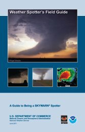Weather Spotter's Field Guide - National Weather Service