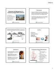 Disclosure NASPGHAN/ESPGHAN Guidelines Outline Definitions ...
