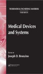 The Biomedical Engineering Handbook Third Edition