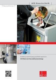 Sammlung und Entsorgung von gewerblichen Speiseresten - Aco
