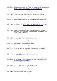 2010-05-01 Ausstellung von zwölf Fine Art Werken in Räumen der ...