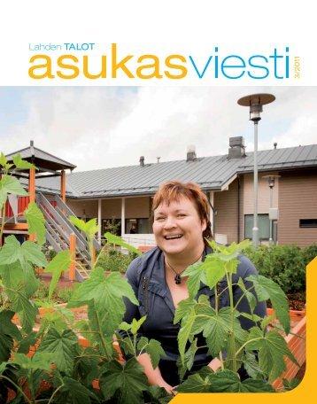 Asukasviesti 3/2011 - Lahden Talot Oy