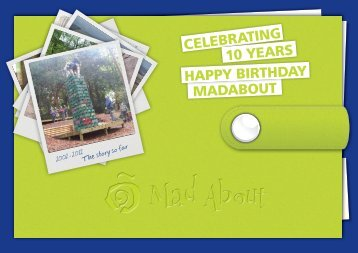 MadAbout Birthday Book
