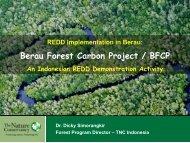 Berau Forest Carbon Project / BFCP - GCF