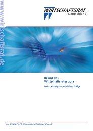 Download ( PDF | 2349 KB ) - Wirtschaftsrat der CDU e.V.