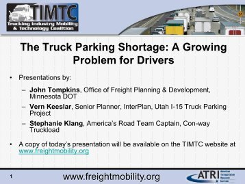 Truck driver shortage extends beyond u s