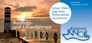 Prospekt 2013 (PDF) - Schifffahrt Knoll