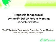 here - The East Asia Plant Variety Protection Forum