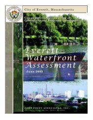 Everett Waterfront Assessment - Metropolitan Area Planning Council