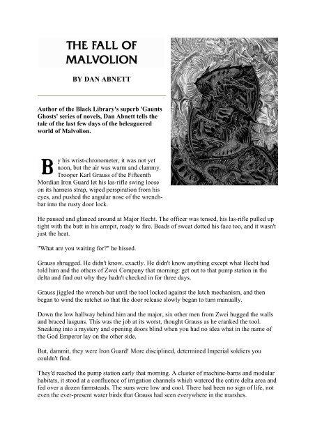 Dan Abnett The Fall Of Malvolionpdf