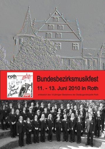 Festschrift des Bundesbezirksmusikfestes
