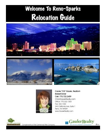 Relocation Guide - Gauler Realty