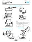 Horizontal Plug - AVX - Page 2
