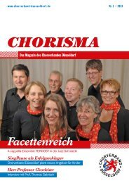 Chorisma 1-2012 - Chorverband Düsseldorf