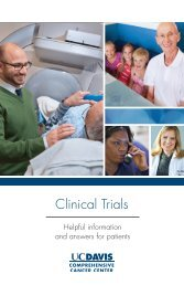 Download our helpful information booklet for patients - UC Davis ...