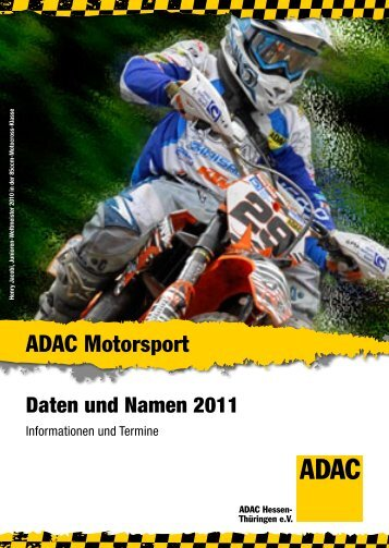 Motorrad-Event 2011 - ADAC Ortsclub-Portal