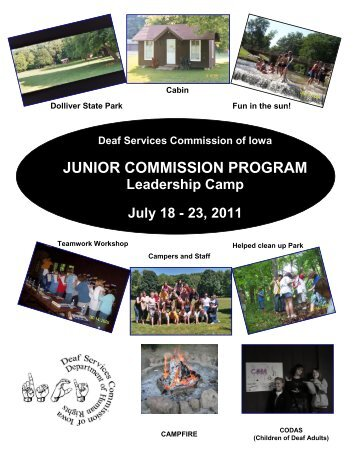 Application Form - Deaf Services Commission of Iowa