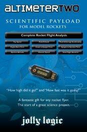 AltimeterTwo User Guide - jolly logic