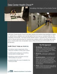 Data Center Health Check - Total Site Solutions