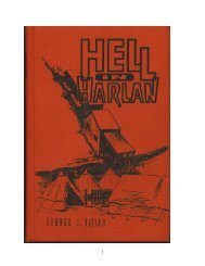 Hell in Harlan - front page