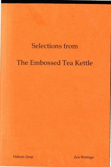 Selections from The Embossed Tea Kettle - Terebess