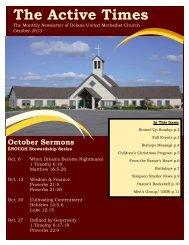 October 2013 - Delano United Methodist Church