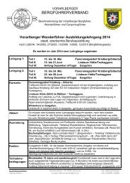 das Anmeldefomular zum download in .pdf. - Österreichische Berg ...