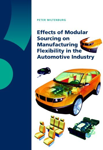 Effects of Modular Sourcing on Manufacturing Flexibility in the ...