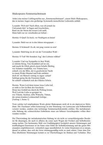 Shakespeares Sommernachtstraum - Baader54.de
