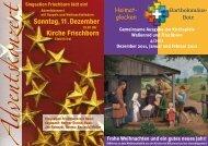 Sonntag,11.Dezember Kirche Frischborn - ksp-wallenrod