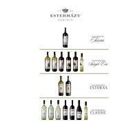 Estérhazy Recipes - Wein-Bauer
