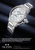 "TW Steel, the name meaning ""The watch in steel"" has rapidly ... - Page 5"