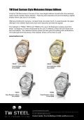 "TW Steel, the name meaning ""The watch in steel"" has rapidly ... - Page 6"