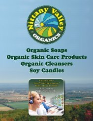 NVO Catalog - Nittany Valley Organics