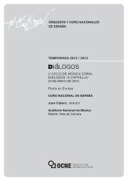 Descargar programa - Auditorio Nacional de Música - Ministerio de ...