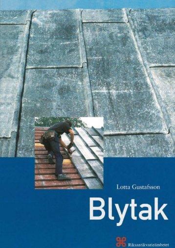 Blytak - Riksantikvarieämbetet