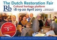 The Dutch Restoration Fair - Restauratiebeurs