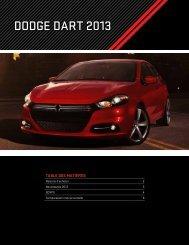 DoDge DART 2013 - Capitale Chrysler