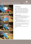 Stainless Steel Care Instructions_Layout 1 - Gloster Furniture - Page 3