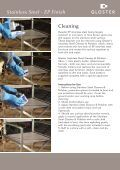 Stainless Steel Care Instructions_Layout 1 - Gloster Furniture - Page 5