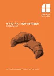 Katalog - Anke Hehner Industriebedarf