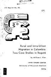 Rural and Intra-Urban Migration in Colombia: Two Case ... - Corpoica