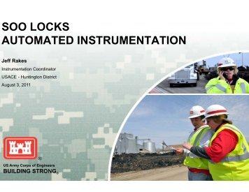 SOO LOCKS AUTOMATED INSTRUMENTATION - Marshall