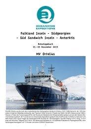 Falkland Inseln - Südgeorgien - Süd Sandwich Inseln ... - Spitzbergen