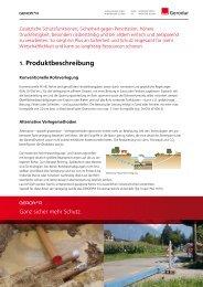 1. Produktbeschreibung - Z.I.S. Spezialbaustoffe GmbH