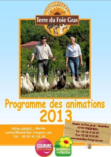 Télécharger le programme d'animation de groupes au Musée du ...