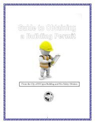 Guide To Obtaining A Building Permit - City of El Cajon