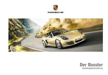 Der Boxster - Porsche